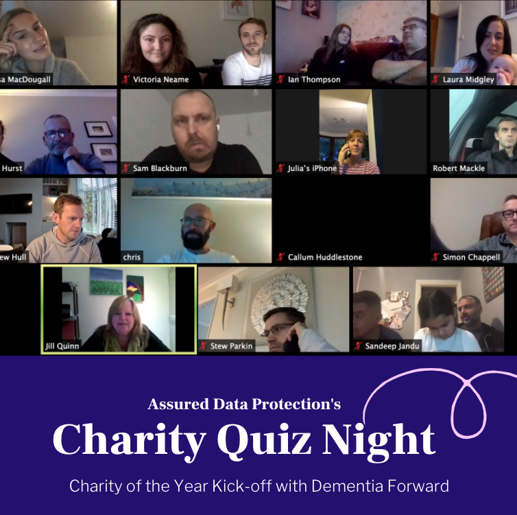 Assured Data Protection's Charity Quiz Night