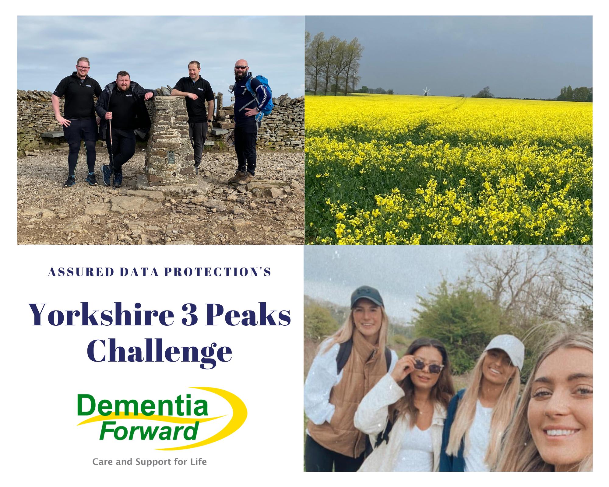 Assured Data Protection's Yorkshire 3 Peaks Challenge - Mid-Challenge Progress Update